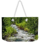 Snowmelt On The Carson Weekender Tote Bag