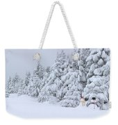 Snowmen In France Weekender Tote Bag