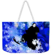 Snowmobiling In The Avalanche  Weekender Tote Bag