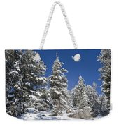 Snowscape 2 Weekender Tote Bag
