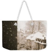 Snowy Afternoon Weekender Tote Bag
