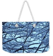 Snowy Branches Landscape Photograph Weekender Tote Bag