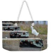 Snowy Egret #2 Weekender Tote Bag