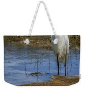 Snowy Egret Of Chincoteague No. 3 Weekender Tote Bag