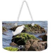 Snowy Egret  Series 2  3 Of 3  Adjusting Weekender Tote Bag