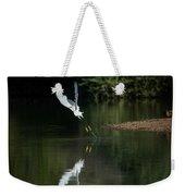 Snowy Egrets 080917-4290-1 Weekender Tote Bag