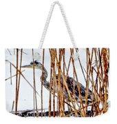 Snowy Heron? Weekender Tote Bag