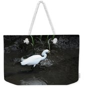 Snowy In The Mud Weekender Tote Bag