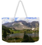 Snowy Mountain Loop 9 Weekender Tote Bag