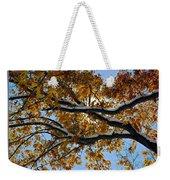 Snowy Oak Weekender Tote Bag