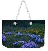 Snowy Phlox Sunset Weekender Tote Bag