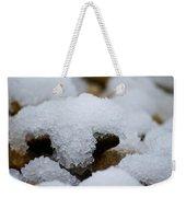 Snowy Stones Weekender Tote Bag
