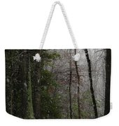 Snowy Trail Quantico National Cemetery Weekender Tote Bag