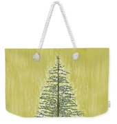 Snowy Tree Weekender Tote Bag
