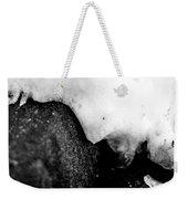 Snowy Underhang Weekender Tote Bag