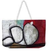 So We Begin- Abstract Art Weekender Tote Bag