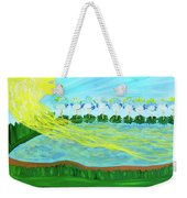 So Wrapped Up In You Weekender Tote Bag