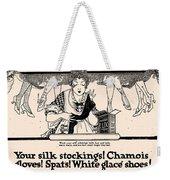 Your Silk Stockings Vintage Soap Ad Weekender Tote Bag