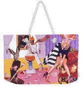 Soap Scene #20 Galleria Symbiosis Weekender Tote Bag