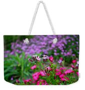 Soapwort And Pinks Weekender Tote Bag