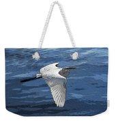 Soaring Egret Weekender Tote Bag