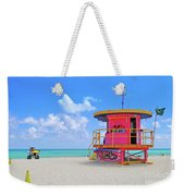 Sobe Lifeguard Weekender Tote Bag