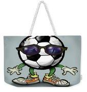Soccer Cool Weekender Tote Bag