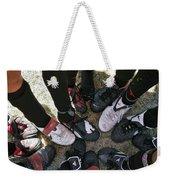 Soccer Feet Weekender Tote Bag