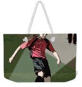 Soccer Style Weekender Tote Bag