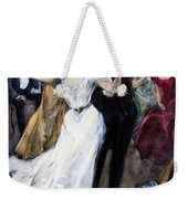 Society Ball, C1900 Weekender Tote Bag