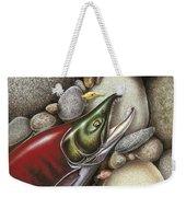 Sockeye Salmon Weekender Tote Bag
