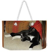 Socks The Cat King Weekender Tote Bag