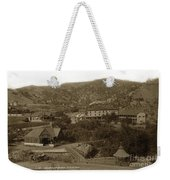 Soda Springs And Cliff House In Manitou, Colorado Weekender Tote Bag