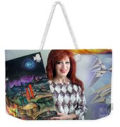 Sofia Goldber - About Mars Civilization. 5 Weekender Tote Bag