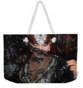 Sofia Metal Queen - Black Metal Bellydancer Model Weekender Tote Bag
