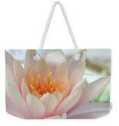 Soft And Delicate Water Lily Weekender Tote Bag