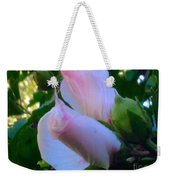 Soft And Gentle Rose Of Sharon Weekender Tote Bag