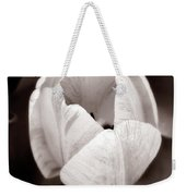 Soft And Sepia Tulip Weekender Tote Bag