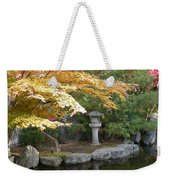 Soft Autumn Pond Weekender Tote Bag