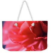 Soft Carnation Petals Weekender Tote Bag