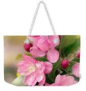 Soft Apple Blossom Weekender Tote Bag