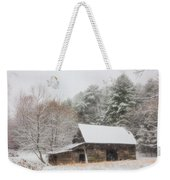 Soft Colors In The Snow Weekender Tote Bag