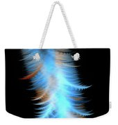Soft Cosmic Feathers Weekender Tote Bag