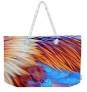 Soft Feather Palette Weekender Tote Bag