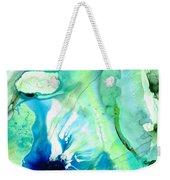 Soft Green Art - Gentle Guidance - Sharon Cummings Weekender Tote Bag