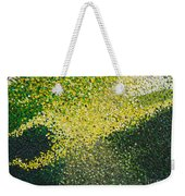 Soft Green Light  Weekender Tote Bag
