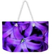 Soft Hyacinth Weekender Tote Bag