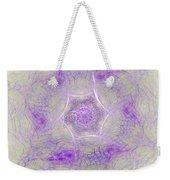 Soft Lavender Weekender Tote Bag