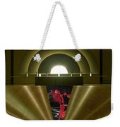 Soft Light Hard Surface Weekender Tote Bag