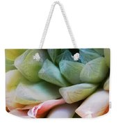 Soft Natural Succulents Weekender Tote Bag